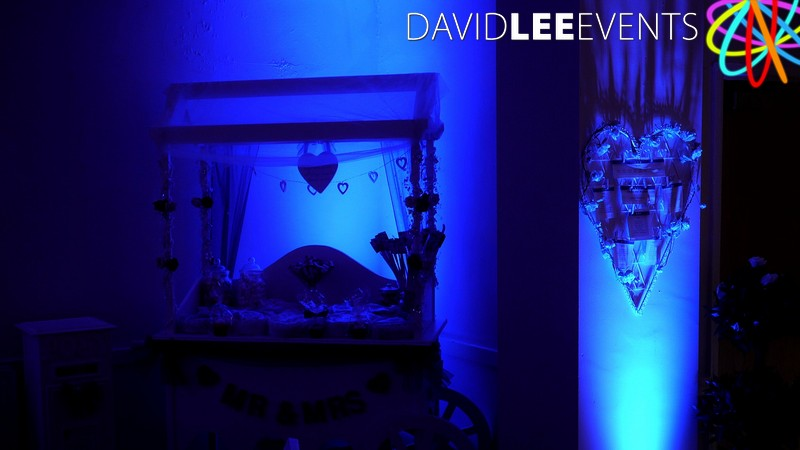 Wedding Lighting At Austerlands Cricket Club
